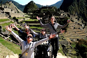 Disabled Peru Machu Picchu