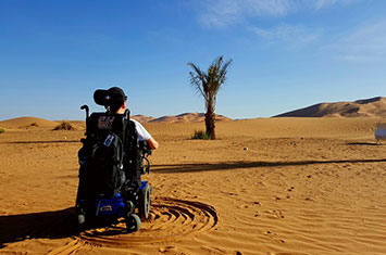 Accessible Morocco Wheelchair