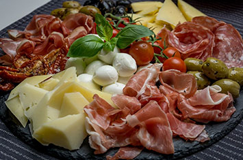 Delicious food in Florence