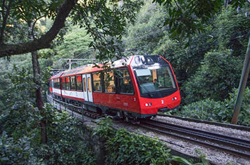 Train to Corcovado Rio de Janeiro